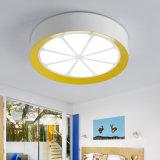 As crianças de forma Limão criativa moderna LED da Luz de Teto