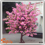 실내 훈장 소형 섬유유리 인공적인 벚꽃 나무