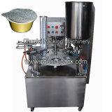 Máquina de enchimento da selagem da folha do copo de alumínio