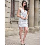 2017 neu, reizvolles Sequins-Kleid glättend, Großverkauf-heißes Kleid (A172)
