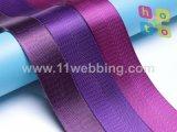 Fuente de nylon de imitación de las existencias de las correas del poliester Herringbone de muchos colores