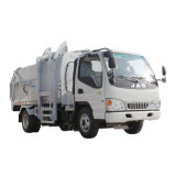 Piccolo camion di immondizia laterale di caricamento