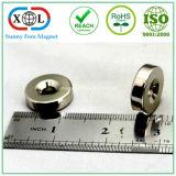 Angesenkter Ring-Magnet mit Schrauben-Loch