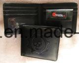 PU/PVC кожаные бизнес-мужчин Wallet с индивидуального логотипа