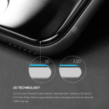 Ultra dünn 3D gebogenen Volldeckung-ausgeglichenes Glas-Bildschirm-Schoner Anti-Löschen