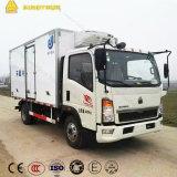 中国のSinotruck 4X2の冷凍のトラック