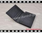 Portatarjetas de cuero del nombre comercial del regalo de la alta calidad, sostenedor a granel de la tarjeta de visita