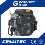 19HP Horizontal Shaft 2 Cilindro Motor a gasolina