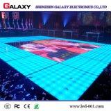 suelo de baile interactivo del color P6.25/P8.928 LED de 500*1000m m con el sensor de movimiento para la boda y los acontecimientos