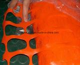 Eco freundliches haltbares Sperren-Ineinander greifen-orange warnendes Netz