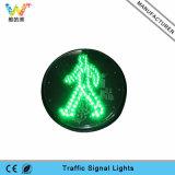 125mm grünes FußgängerVerkehrszeichen-Licht des licht-LED