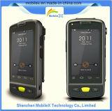 PDA avec du SYSTÈME D'EXPLOITATION androïde, scanner de code barres, lecteur de RFID