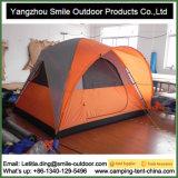 防風の二重層の習慣は記憶キャンプ旅行テントを作る
