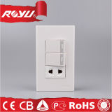 220V Universal Power Power Switched Socket para casa