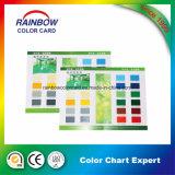 Scheda di scheda della carta millimetrata di colore di stampa del deposito