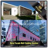 Rivestimento di alluminio della parete del comitato esterno della facciata del materiale da costruzione del metallo