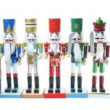 2017 estatuas de encargo baratas Caliente-Vendedoras del cascanueces de la resina para Navidad Deco