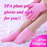 Отбеливает кожу увлажняющий гель для ручного режима спа перчатки носки