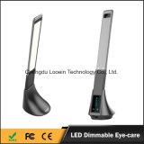 目心配LEDの電気スタンド、Foldable LEDの卓上スタンド、USBの力バンクが付いているポートの再充電可能な卓上スタンドの読書ランプが付いているベッドサイド・テーブルランプ