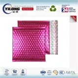 2017 envelopes aluminizados coloridos do saco plástico de bolhas da película