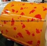 Bobine en acier enduite d'une première couche de peinture de Gi/bobines enduites par couleur de PPGI/PPGL avec le prix usine du toit