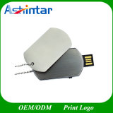 Металлический диск USB Memory Stick военных Dog Tag форму флэш-накопитель USB