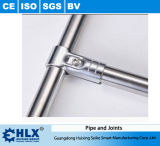Fabrik-Zubehör-Edelstahl-Rohr für das Konstruieren der Zahnstangen Hlx-PP009