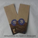 Подгонянный мешок хлеба Kraft бумажный с цветастой печатью