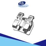 Flache Grundmetall-Halter des Ineinander greifen-orthodontisches MIM mit 345hooks