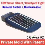 Catalogue des prix solaire Integrated de réverbère de la qualité DEL