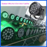 Impermeable DMX 512 LED 14PCS Flat Club / Party PAR luz
