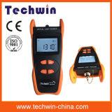 Sorgente luminosa di Techwin del tester redditizio della fibra di Tw3109e