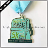 Медальон спортов с тесемкой медали для бежать (BYH-101134)
