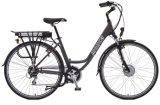 Signora elettrica Scooter Shimano Brand della bicicletta della bici E di nuovo di modo di stile della città disegno popolare della E-Bici