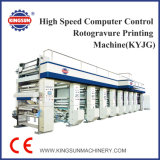 Kyjg Series High Speed ​​Computer Control Rotogravure Printing Machine