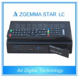 공식적인 소프트웨어를 가진 DVB-C 하나 케이블 조율사 Zgemma 별 LC 리눅스 OS Enigma2 케이블 수신기