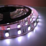 Tira superior del uso 5050 LED del departamento de joyería del alto brillo del grado