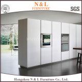 現代様式のホーム家具MDFの光沢度の高いラッカー食器棚