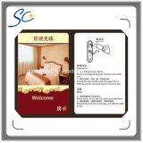 Carte principale de l'IDENTIFICATION RF T5577 d'hôtel réinscriptible de carte