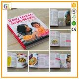 Livre de cuisine fait sur commande de livre À couverture dure, impression de magasin
