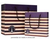 Bolso de papel personalizados de alta calidad para la prenda de vestir