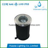 옥외 IP68 1W LED 지하 포장 중단된 빛