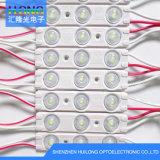 Inyección de LED impermeable Moduel con lente
