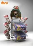 소매를 위한 지면 진열대 골판지 전시 깔판