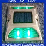 Parafuso prisioneiro reflexivo solar de alumínio da estrada dos olhos de gato do diodo emissor de luz (JG-02)