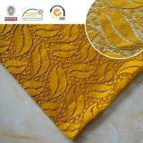 Folha Padrão Bordado de alta qualidade Tela de renda Tecido de poliéster Fancy Melt Polyster Lace for Garments & Home Textileslln10045