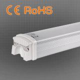 18W Al+PC 창고를 위한 물자 높은 광도 세 배 증거 LED 관 빛