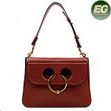 Nouveau design Lady Sacs à main authentique sac à bandoulière en cuir lisse Emg4897