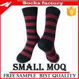 Kundenspezifische Mens-Geschäfts-Socken-Mannschafts-Socken gekopierte Kleid-Socken