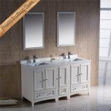 Шкаф тщеты ванной комнаты двойной раковины твердой древесины Fed-1073b самомоднейший